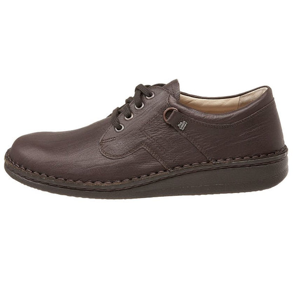 Finn Comfort Vaasa Coffee Mens Shoes#color_coffee