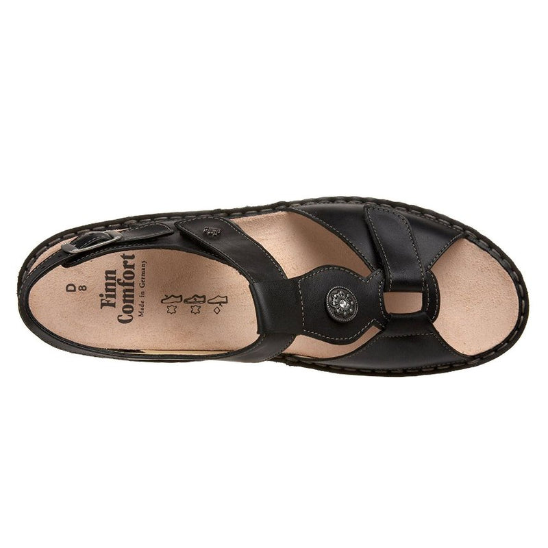 Finn Comfort Adana Black Womens Sandals