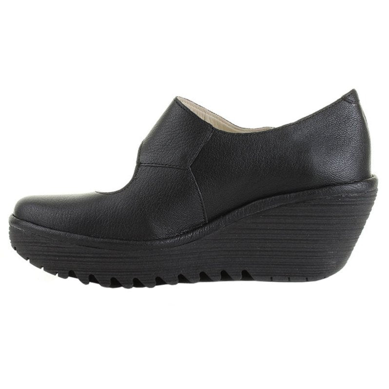 YASI682FLY Black Womens Shoes