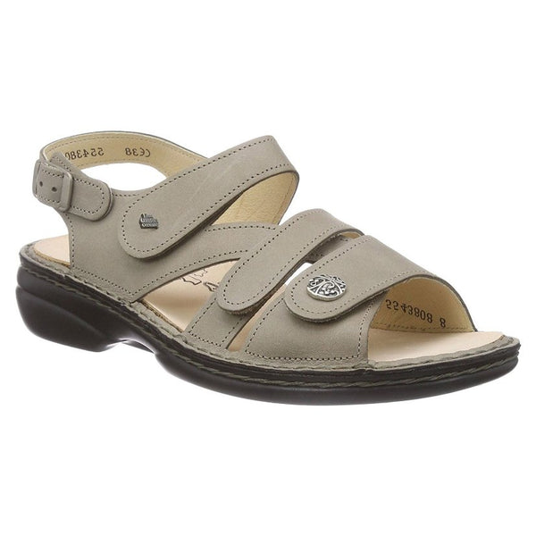 Finn Comfort Gomera 2562 Taupe Womens Sandals#color_taupe