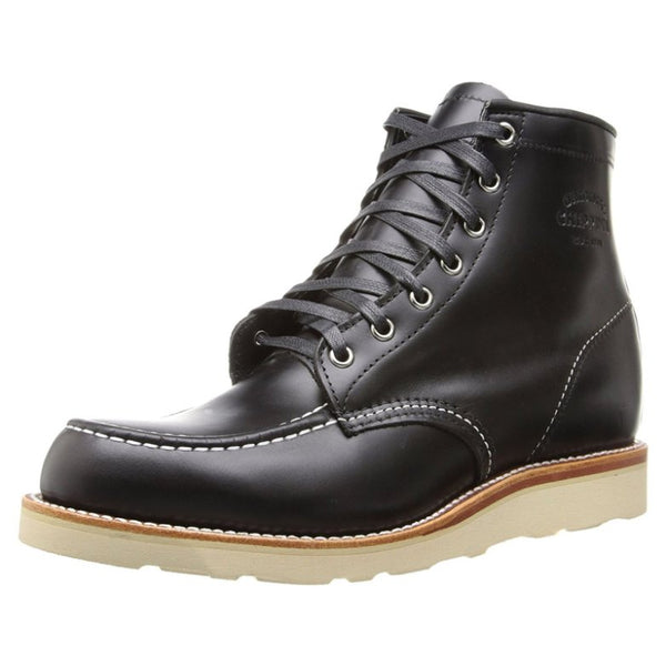 Chippewa 1901M19 Black Mens Boots#color_black