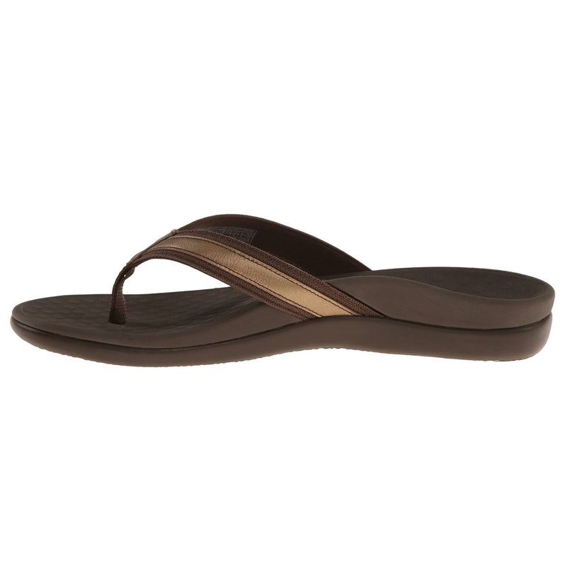 Vionic Islander Tide II Bronze Metallic Womens Sandals