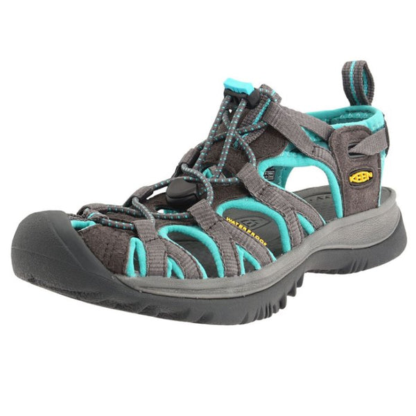 Keen Whisper Dark Shadow Ceramic Womens Sandals#color_dark shadow ceramic