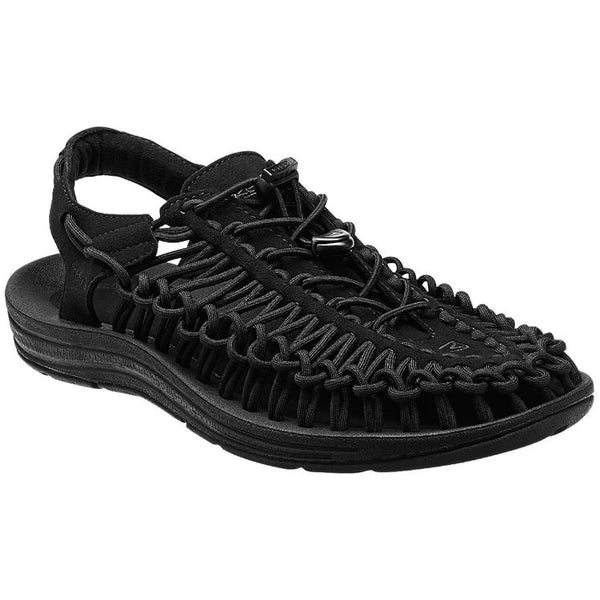 Keen Uneek Black Mens Sandals#color_black