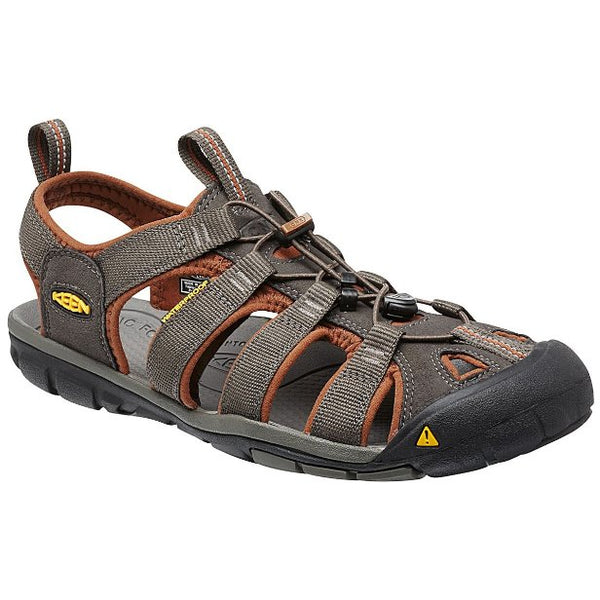 Keen Clearwater CNX Brown Mens Sandals#color_brown