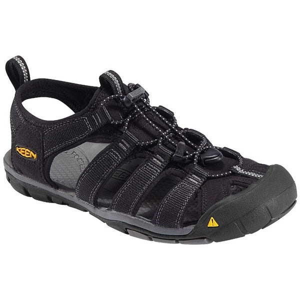 Keen Clearwater CNX Black Mens Sandals#color_black