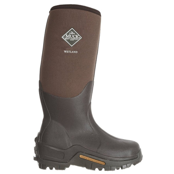 Muck Wetland Brown Mens Boots#color_brown