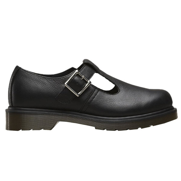Dr.Martens Polley Plain Welt Black Womens Shoes#color_black