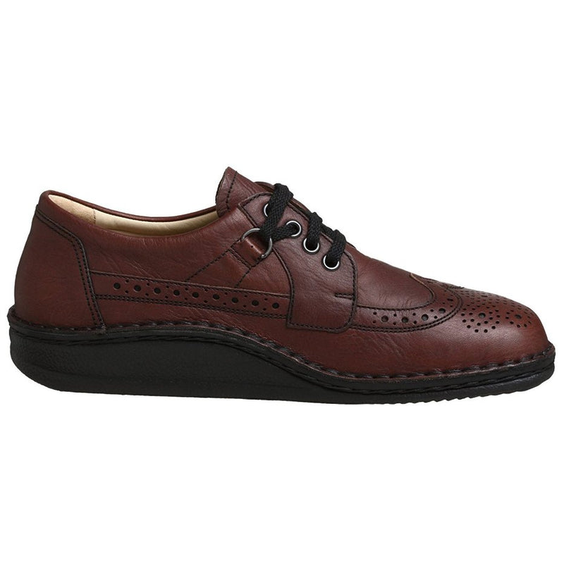 Finn Comfort York Dark Brown Mens Shoes