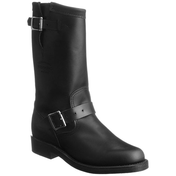 Chippewa 1901W14 Black Womens Boots#color_black