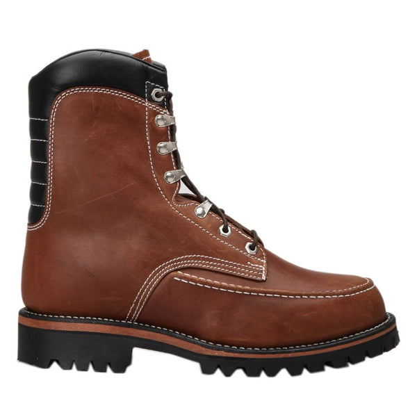 Chippewa 1969 Original Kush N Kollar Chocolate Mens Boots#color_chocolate