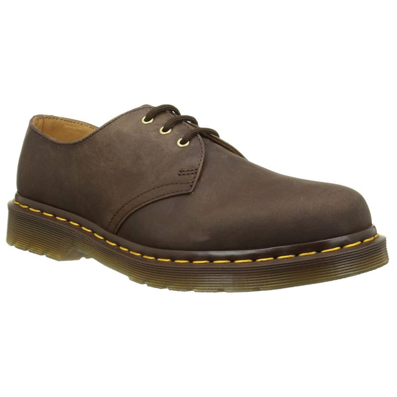 Dr.Martens 1461 3-Eyelet Brown Womens Shoes