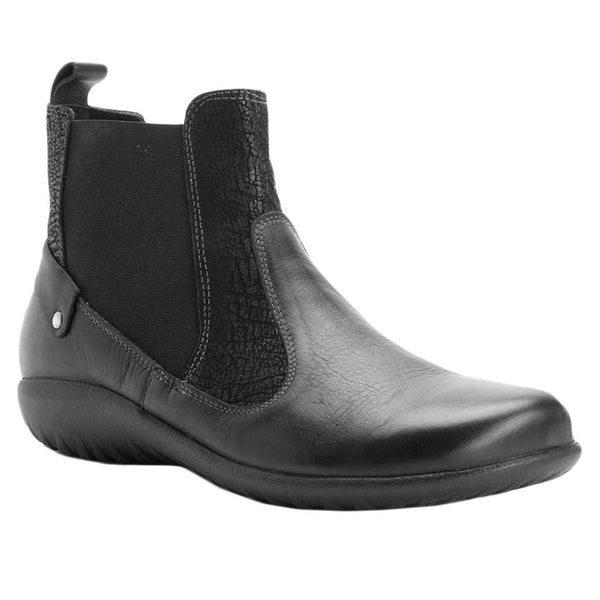 Naot Konini Black Raven Womens Boots#color_black raven