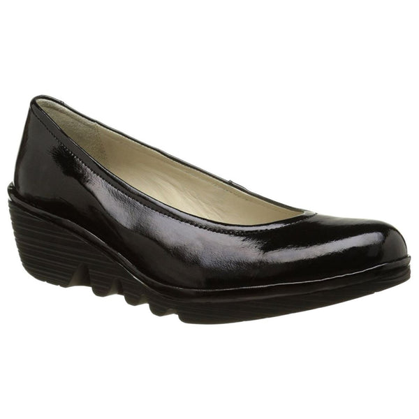 Fly London Pump Black Womens Shoes#color_black