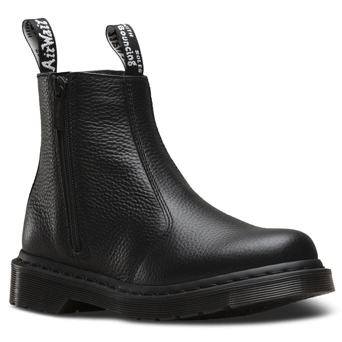 Dr.Martens 2976 with Zips Black Womens Boots