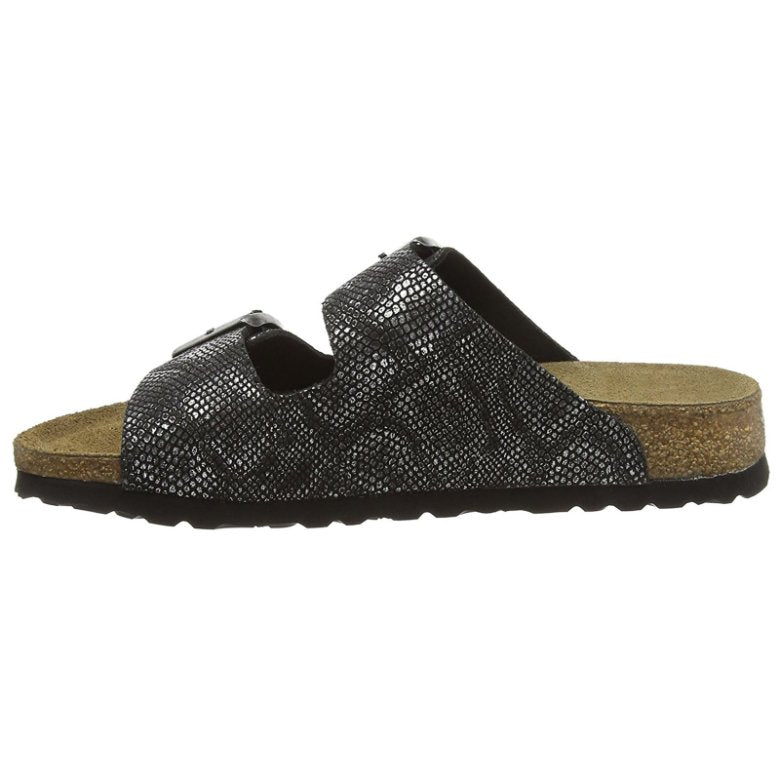 Papillio by Birkenstock Arizona Royal Python Black Womens Sandals