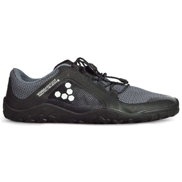Vivobarefoot Primus Trail Firm Ground Black Charcoal Mens Trainers#color_black charcoal