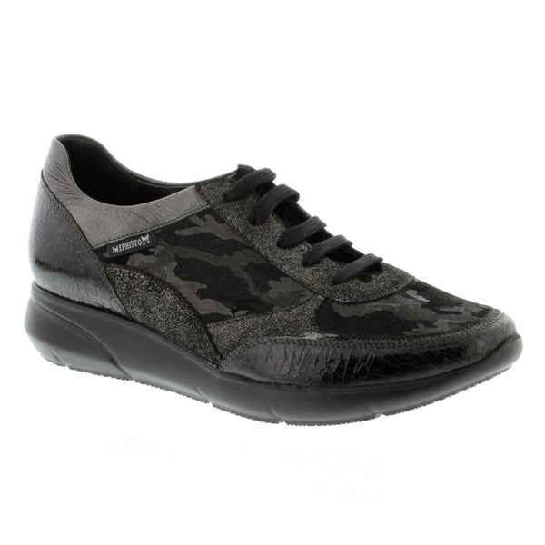 Mephisto Diane Black Womens Trainers#color_black