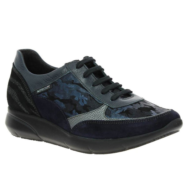 Mephisto Diane Navy Womens Trainers#color_navy