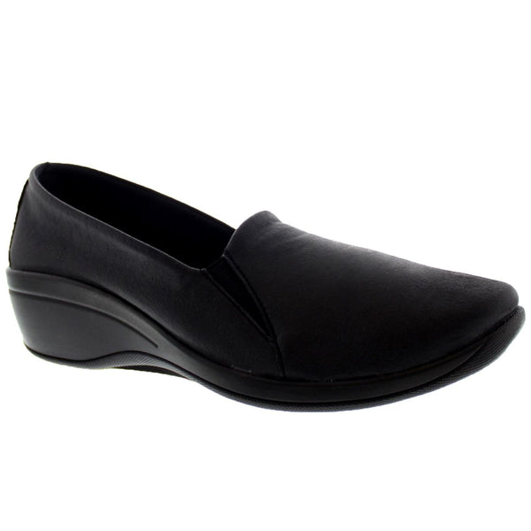 Arcopedico Opera Black Womens Shoes#color_black