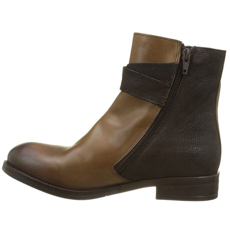 Fly London Afar 021 Camel Chocolate Womens Boots