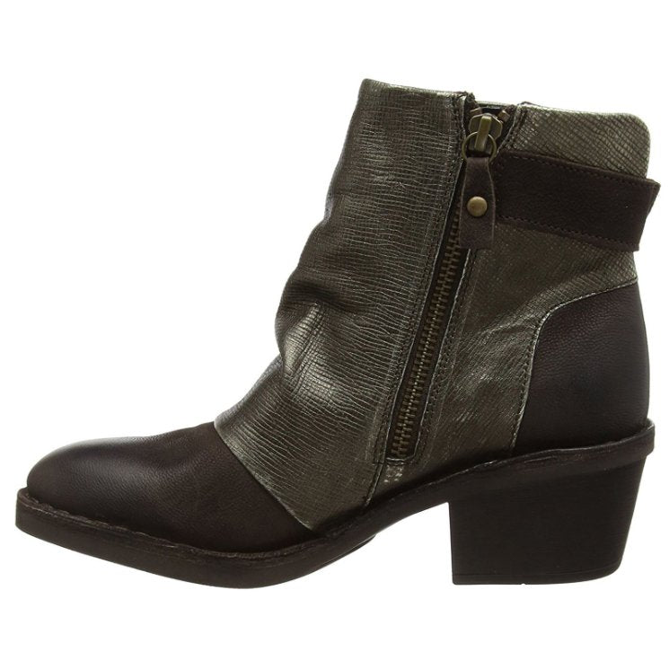 Fly London Dape 897 Chocolate Bronze Womens Boots