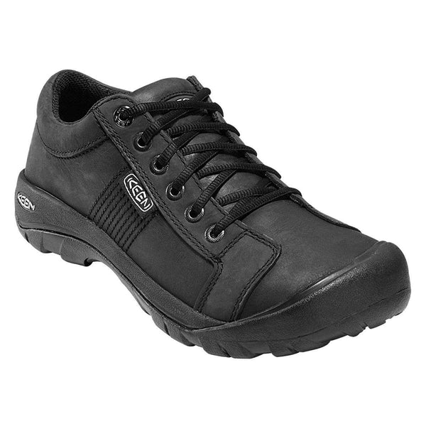Keen Austin Black Mens Shoes#color_black