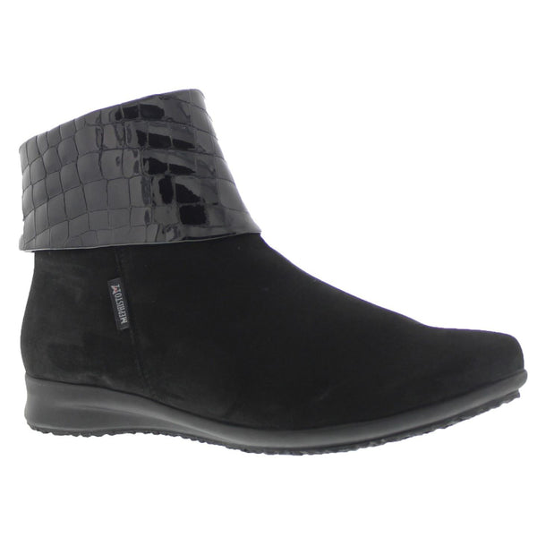 Mephisto Fiducia Black Womens Boots#color_black