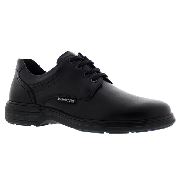 Mephisto Denys Black Mens Shoes#color_black