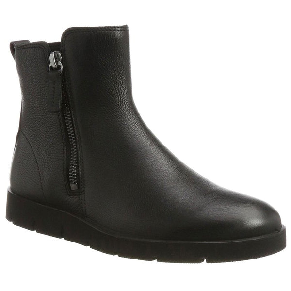 Ecco Bella Black Womens Boots#color_black