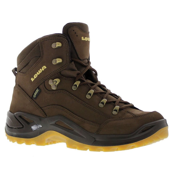 Lowa Renegade Gore-Tex Mid Espresso Honey Mens Boots#color_espresso honey