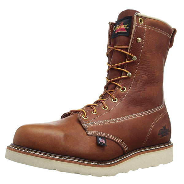 Thorogood 8'' Plain Toe Wedge 814-4364 Tobacco Mens Boots#color_tobacco
