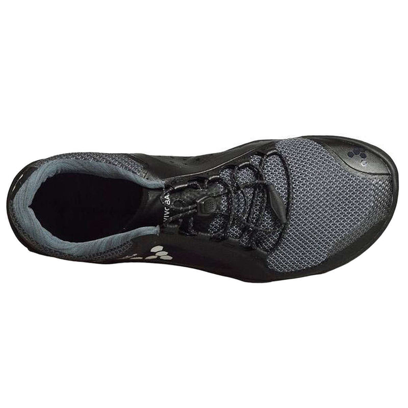Vivobarefoot Primus Trail Firm Ground Black Charcoal Womens Trainers