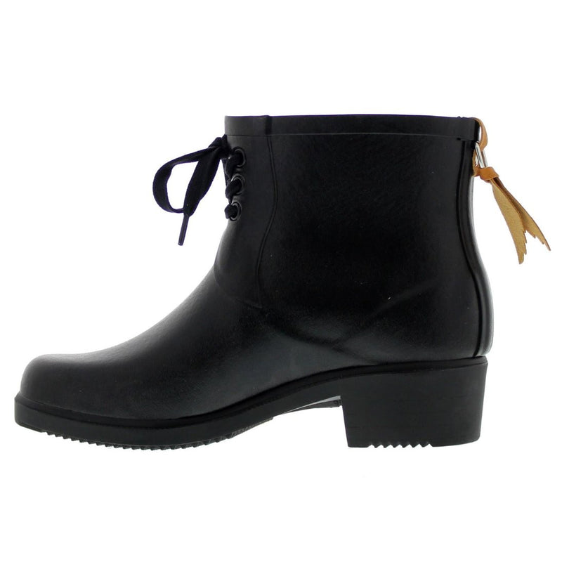 Aigle Miss Juliette Bottillon Lacet Black Womens Boots
