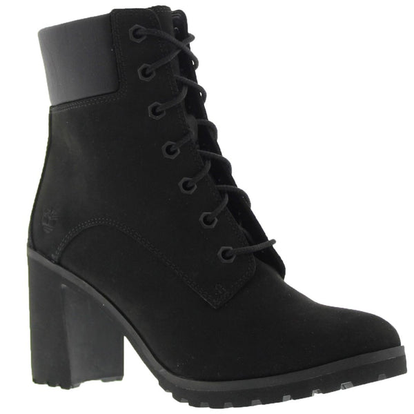 Timberland Allington 6 inch Black Womens Boots#color_black