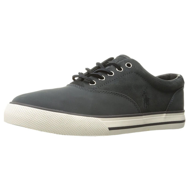 Ralph Lauren Vaughn Grey Mens Trainers#color_grey