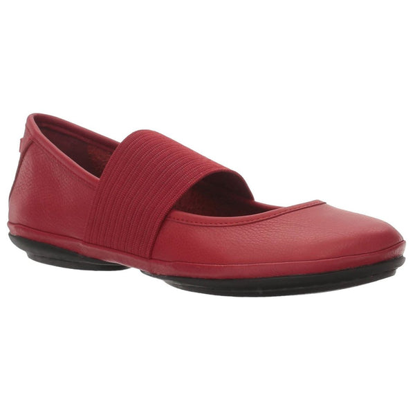 Camper Womens Right Nina 21595 Leather Shoes#color_red