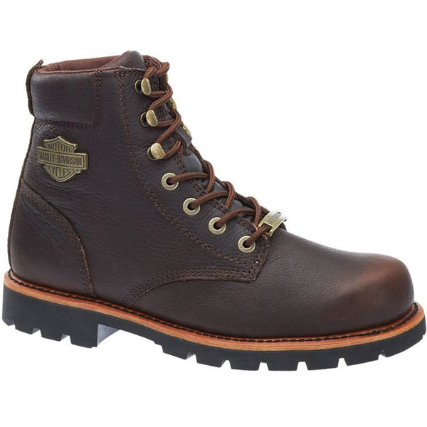 Harley Davidson Vista Ridge Brown Mens Boots#color_brown