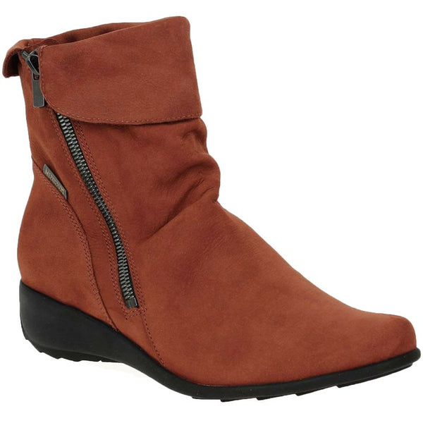 Mephisto Seddy Rust Womens Boots#color_rust