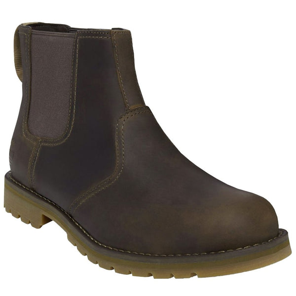 Timberland Larchmont Chelsea Gaucho Mens Boots#color_gaucho