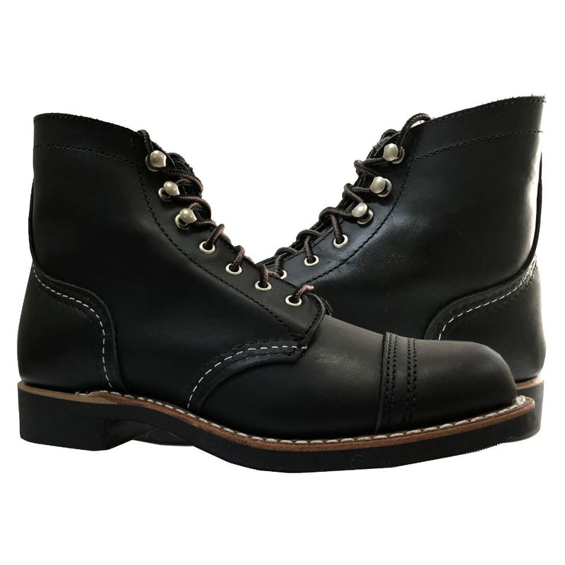 Red Wing Iron Ranger 3366 Black Womens Boots