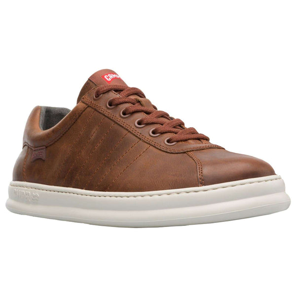 Camper Mens Runner Four Leather Trainers#color_cola