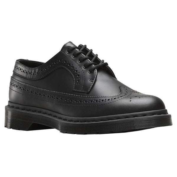 Dr.Martens Womens 3989 5-Eyelet Leather Shoes#color_black