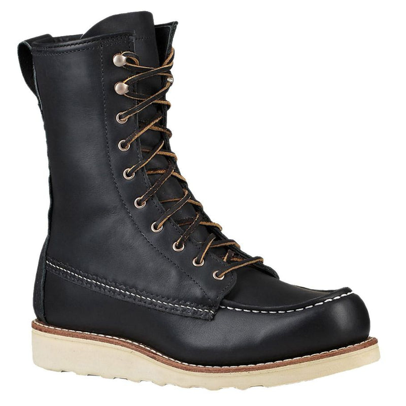 Red Wing 8 Inch Moc 3424 Black Womens Boots
