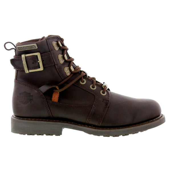 Harley Davidson Harrison Brown Mens Boots#color_brown