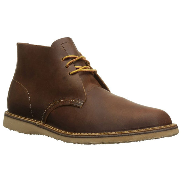Red Wing Mens Weekender Chukka 3322 Leather Boots#color_copper