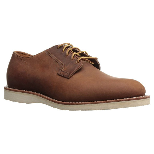 Red Wing Mens Postman Oxford 3118 Leather Shoes#color_copper