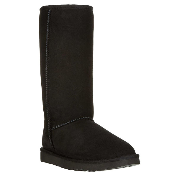 Ugg Australia Womens Classic Tall II Sheepskin Boots#color_black