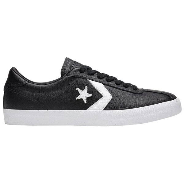 Converse Breakpoint Ox Leather Womens Trainers#color_black white