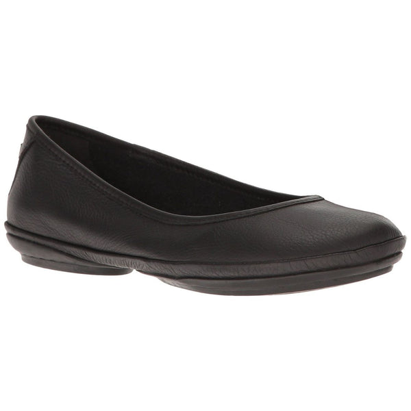 Camper Womens Right Nina Leather Shoes#color_black